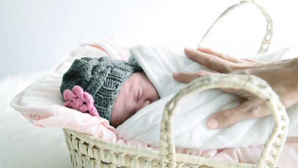 Pemakaian Gurita pada Bayi Baru Lahir
